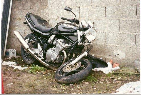 Rsultat de recherche dimages pour moto en mauvais tat