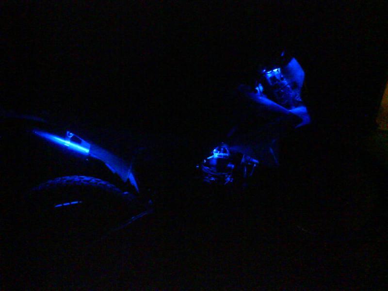 en plaine nuit
