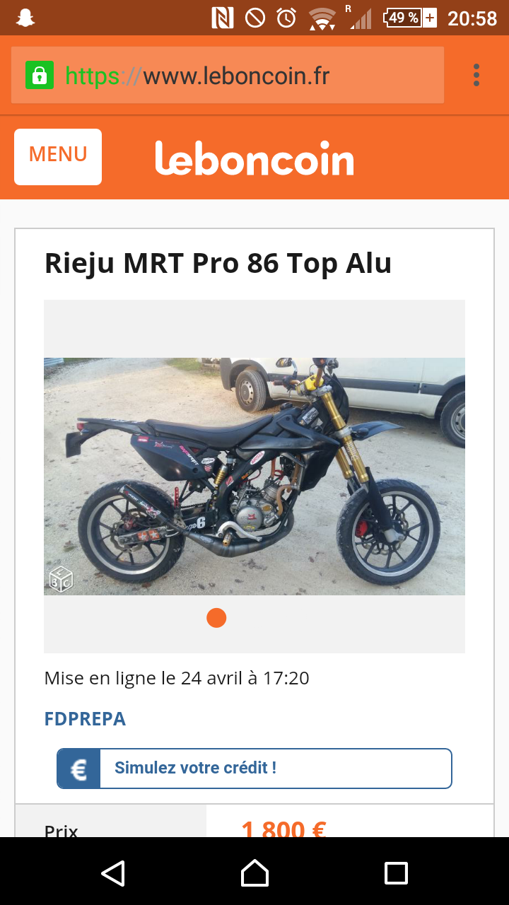 86 Best The Magician Images On Pinterest: Rieju Mrt Pro ( 50cc) 86 Top Alu à 2000 Euros Sur Le Bon