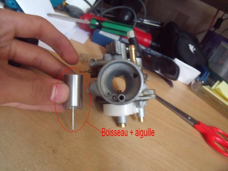 composants d un carburateur hexa moto